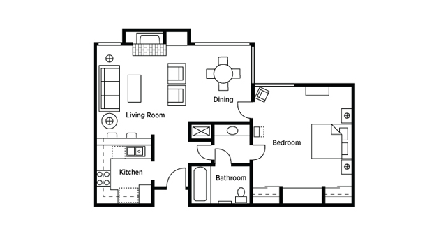 Riviera Oaks Floor Plan